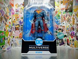 "Mcfarlane DC Multiverse Superman Bizarro Rebirth 7"" Action Figure FREE SHIPPING!"