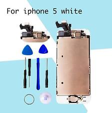 White LCD Lens AssemblyTouch Screen Display Digitizer Replacement for iPhone 5