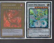 Yugioh Card - Super Rare Holo - Light End Dragon RYMP-EN067 1st Edition