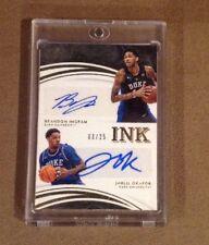 Brandon Ingram Okafor 2016 Immaculate Ink Dual Autograph /25 Duke Lakers Auto