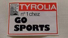 Autocollant Vintage « Tyrolia – N°1 Chez Go Sports » Très Bon Etat.