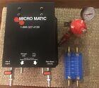 Micro Matic Beer Blender W/ Regulator & Inline Flow Meter/leak Detector For Beer
