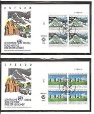 United Nations/Geneva SC # 211-212 World Heritage Type .UNPA Cachet