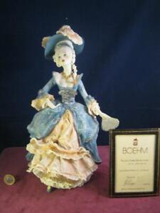 Fantastic  Ltd Ed Boehm Malvern Worcester Porcelain  Figurine Marie Antoinette