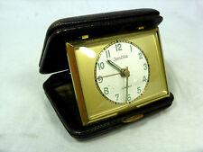60´s Design  Reisewecker / travel alarm clock ZentRa working condition 147 Gr.