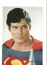 CHRISTOPHER REEVE as Superman magazine PHOTO/Poster/clipping 10x7 inches
