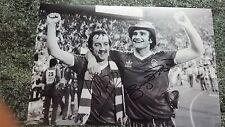Nottingham Forest Taza Europeo Firmado Foto
