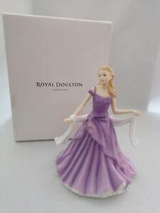 ROYAL DOULTON AMANDA FIGURINE HN5601 MINT CONDITION WITH ORIGINAL BOX