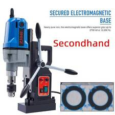 Secondhand 1100w 15hp Electric Magnetic Drill Press Bores Up 2 Depth Mag Drill