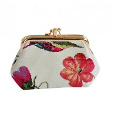 Signare Humming Bird Double Section Coin Frame Purse Tapestry Free Shipping