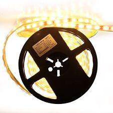 LED 5M warm white IP65 waterproof flexible Led strip Tape Rope 300LEDs 2835SMD
