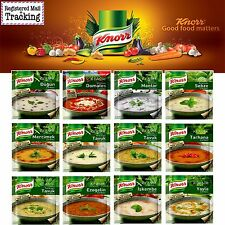 3 packs Knorr Traditional Turkish Soups Collection - Made in Turkey - 12 Kind