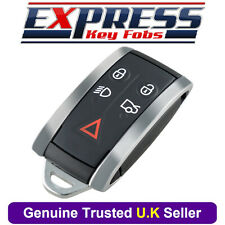 For Jaguar XF XKR XK XFR 5 Button Remote Smart Key Fob Case Cover Shell Blade