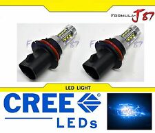 CREE LED 80W 9007 HB5 BLUE 10000K TWO BULB HEAD LIGHT SHOW COLOR LAMP REPLACE K