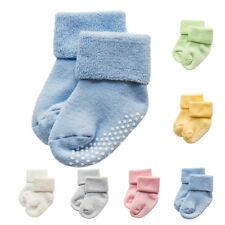 Tout-petits Nouveau Né Garçon Fille Bébé Anti-dérapant Chaussettes Socquettes NF