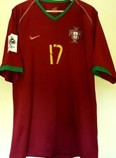 Maillot Portugal C.Ronaldo Qualifiers Wc 2006 Taille XL Home Juventus Vintage