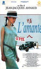 L' amante (1992) VHS Penta - Jean-Jacques Annaud  -  RARA
