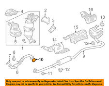 HONDA OEM Exhaust-Center Pipe Gasket 18303TR0A01