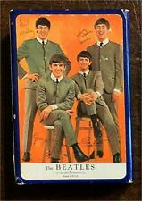 VERY RARE 1964 NEMS BEATLES SINGLE-DECK DELUXE BOX SET of PLAYING CARDS BY ARRCO