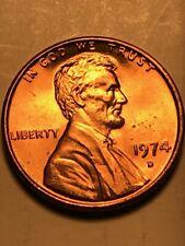 1974 D Penny D over D mint mark Double Die Reverse