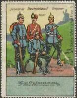 Reklamemarke Infanterist-Dragoner-Husar - 380262