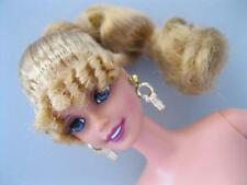 NEWGreek GRECIAN Athena Goddess NUDE BARBIE DOLL Corn Roll Bangs jewelry ring