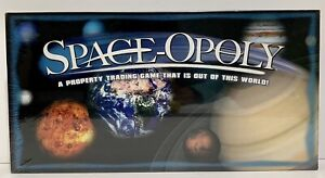 GR Spaceopoly Monopoly Board Game Outer Space Alien Property New