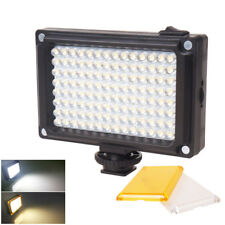 112 LEDs Video Light Dimmable Rechargable Panal Lamp for DSLR Camera Recording