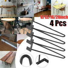 4PCS Hairpin Table Legs Modern Style Metal Hairpin Legs Dining Room