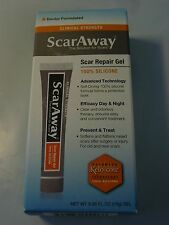 ScarAway Scar Repair Gel 100% Silicone 0.35 oz NEW Exp 2019