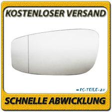 Außenspiegel Spiegelglas für FIAT IDEA 2004-2011 links Fahrerseite asphärisch