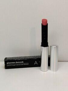 AVON Glazewear Diamonds Lipstick Rhinestone Rose Brand New Boxed Discontinued