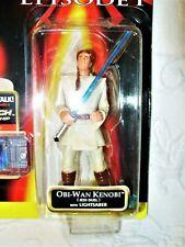 Hasbro Star Wars Episode 1 (Jedi Duel) Obi Wan Kenobi CommTech Action Figure NEW