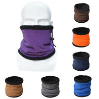GI- ITS- DurakSoft Double Layers Scarf Neck Warmer Gaiter Hat for Outdoor Hiking