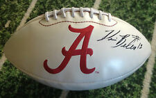 Deion Belue Autographed Signed Alabama Logo Ball 2012 Champs Roll Tide
