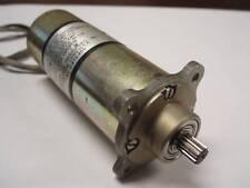 GEARED MOTOR GLOBE  28VDC OR 12VDC  150RPM  50 OZ-IN.