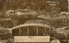 JAPAN : Takamatsu Park-presentation photograph to English officers RP