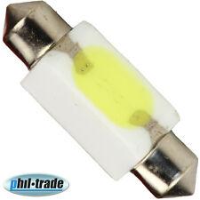 weisse LED Soffitte KERAMIK Lampe 36mm COB-Chip WEISS Auto Innenraum Beleuchtung