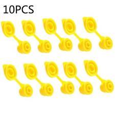 10pcs Yellow Replacement Gas Can Fuel Jug Vent Caps Plugs Eagle Chilton Spouts