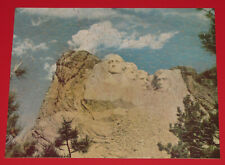 """VINTAGE WHITMAN GUILD PICTURE PUZZLE JIGSAW """"MOUNT RUSHMORE"""" U.S. PRESIDENTS CIB"""