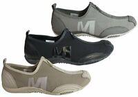 Brand New Merrell Barrado Womens Comfortable Flat Casual Zip Shoes