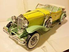 Franklin Mint Duesenberg J 1930 Derham Tourster 1:24 Scale Diecast B11KD09  B4