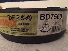 Fremax Discos de Freno Delanteros Ventilado Mercedes-Benz W201 190E 2,3 2,6