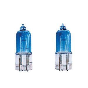 Set 2 Light Bulbs T10 Superwhite Super Shock Simoni Racing