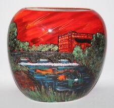 Anita Harris Art Pottery - The Belper Heritage Collection - XL Purse Vase