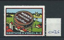 wbc. - CINDERELLA/POSTER - CV35- EUROPE - MOKKA CHOCOLADE, HARTWIG & VOGEL AG