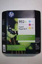 HP 952XL High-Yield Cyan, Magenta, Yellow Original Ink Cartridges
