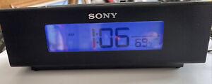 Sony ICF-C707 Nature Sounds Alarm w Digital AM/FM Radio Temp - Dream Machine