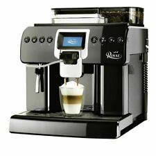Saeco Royal One Touch Cappuccino automatic Espresso Coffee machine in black