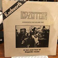 LED ZEPPELIN  2LP - Knebworth Fair Volume One  SEALED  K&S 056